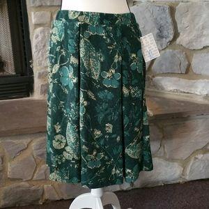 NWT Lularoe Madison pleated skirt XL